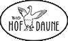 Gänsedaunen vom Bioland Hof Logo